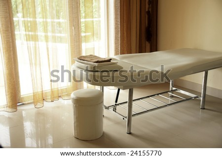 interior of a room for message - stock photo