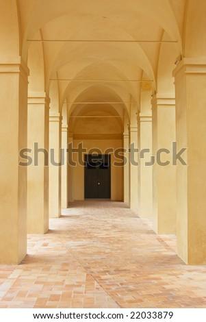 Interior of  Alcazar palace, Seville, Spain - stock photo