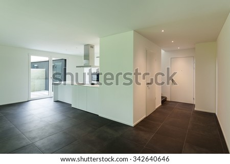 modern luxury open plan studio apartment stock photo 41737027 shutterstock. Black Bedroom Furniture Sets. Home Design Ideas