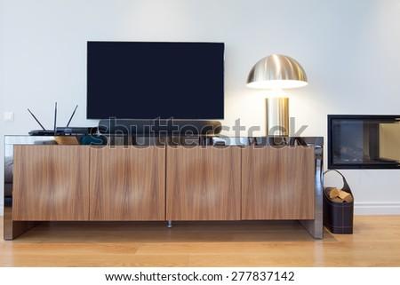 Interior of kitchen - stock photo