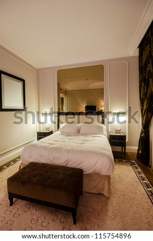 Interior of modern room - stock photo