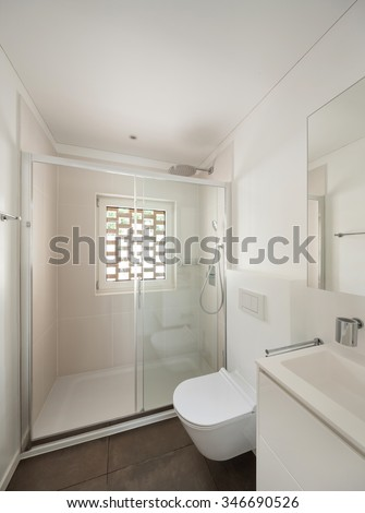 interior of new apartment, 