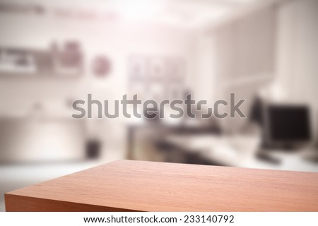 interior of office  and top  - stock photo