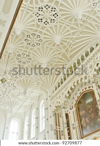 Interior of St Malachy's Church, Belfast, Northern Ireland - stock photo