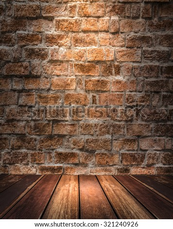 interior room with 1 spots - stock photo