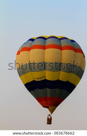 International Balloon Fiesta 10-14 FEBRUARY 2016 at Singha Park Chiangrai Thailand