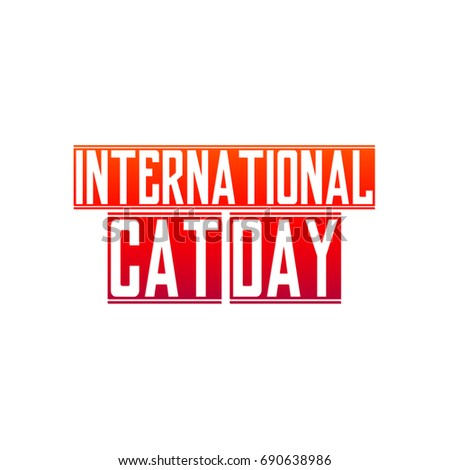 International Cat Day - 8th August