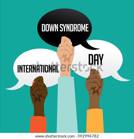 International Down Syndrome Day design.