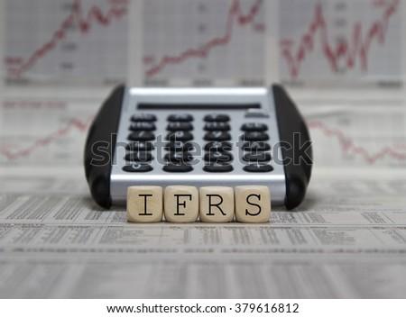 International Financial Reporting Standards  - stock photo