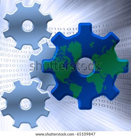 Internet - stock photo