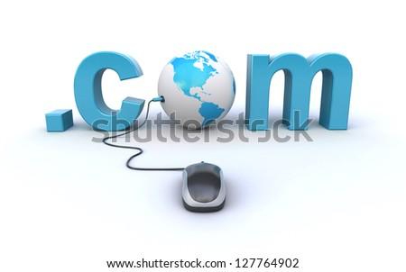 internet address - stock photo