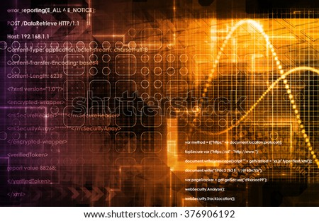 Internet Concept Background with Digital Concept Abstract