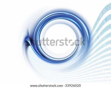 Internet concept, binary code data flow, communication - stock photo