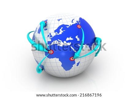 Internet Concept of global networking