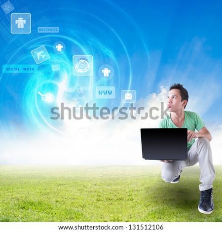 Internet Everywhere  Concept - stock photo