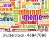 Internet Meme Online Culture as a Social Trend - stock photo
