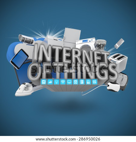 Internet of Things Concept  - stock photo