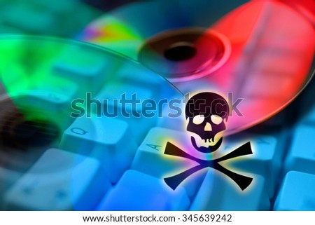 Internet piracy - illegal trademark abuse - criminality - DVD copy