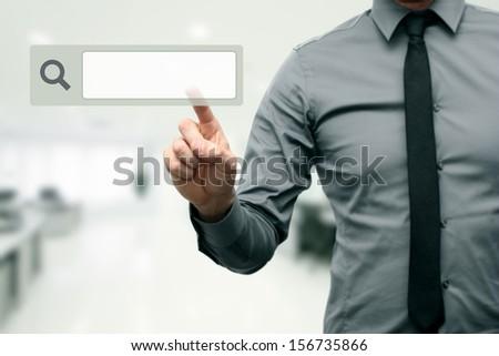 internet search concept - stock photo