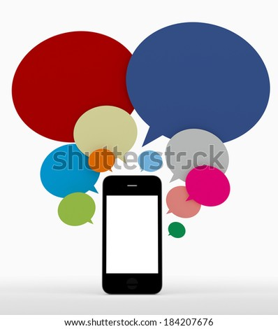 internet sharing - stock photo