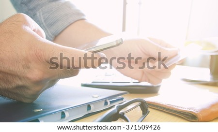 internet shopping,online payment with credit card  - stock photo