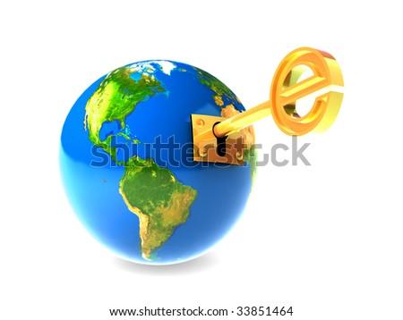 Internet Web - stock photo