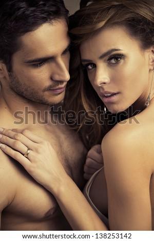 Intimacy - stock photo