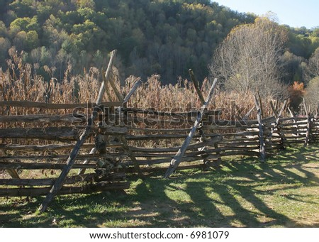 Intricate fence - stock photo