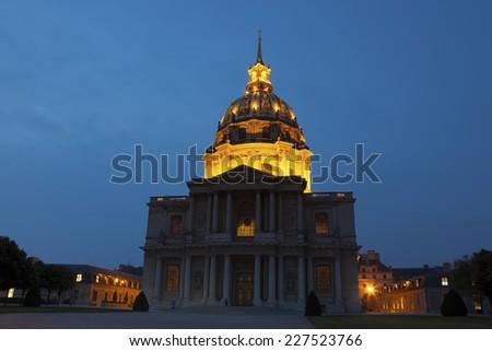 Invalides,  Paris, Ile-de-France, France - stock photo