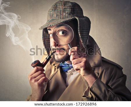 investigation - stock photo