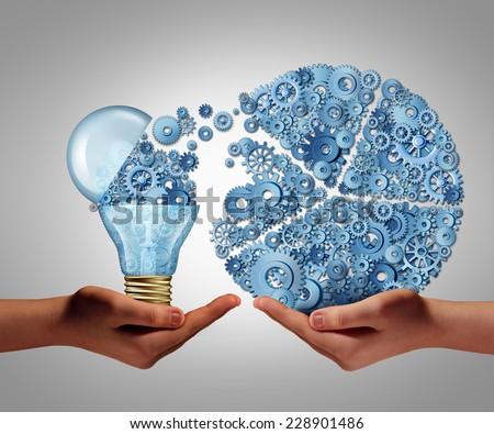 Investing in ideas business concept and financial backing of innovation as an open lightbulb symbol for funding potential innovative growth prospect through venture capital. - stock photo