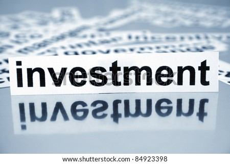 Investment - stock photo