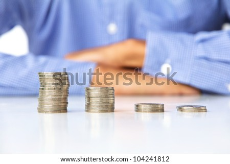 investment concept - stock photo