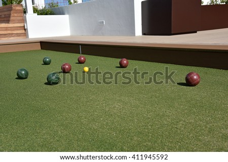 Bocce Ball Court Stock Images, Royalty-Free Images & Vectors ...