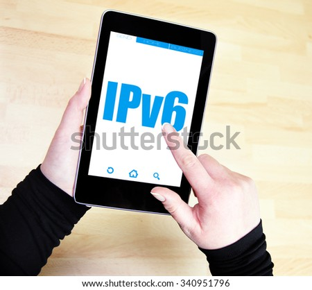 ipv6 network concept