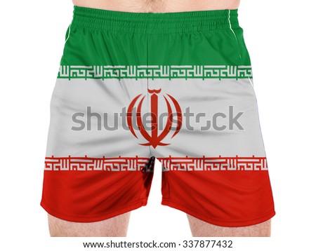 Iran. Iranian flag  - stock photo