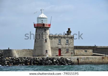 Ireland, Howth lightHouse. - stock photo