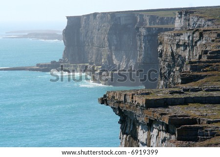 Irish Coastline - stock photo