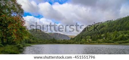 Irish Lake - stock photo