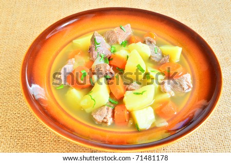Irish stew for Patrick's Day