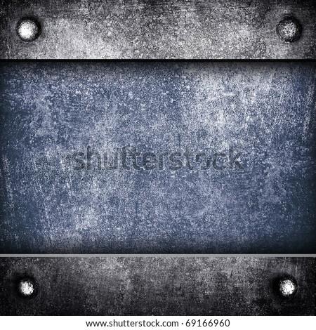 iron background - stock photo