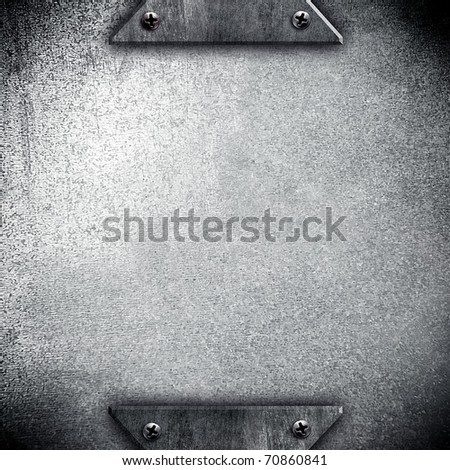 iron background - stock photo