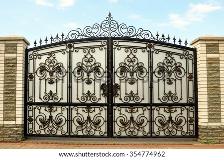 Iron Gate Stock Images Royalty Free Images Amp Vectors