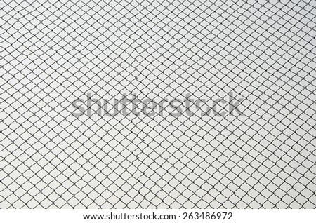 iron mesh - stock photo