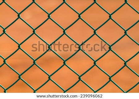 iron net fence