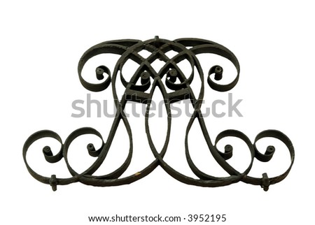 Iron work detail. Picture is taken in Victoria and Albert museum, London.