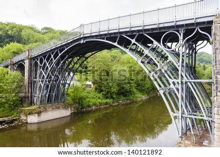 Ironbridge, Shropshire, England - stock photo