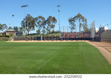 Irvine ca february 12 2015 deanna stock photo 252258922 shutterstock irvine ca february 12 2015 deanna manning stadium seen from the left sciox Choice Image