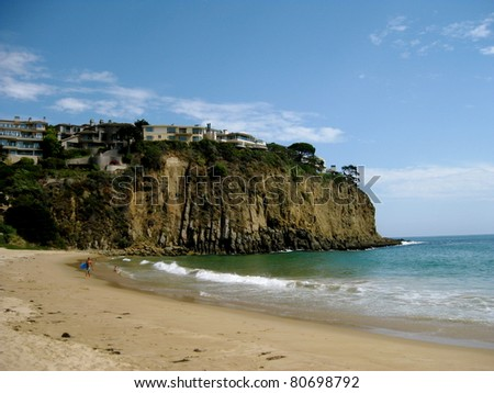 Irvine Cove Laguna Beach, California - stock photo