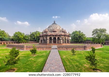 Isa Khan tomb - stock photo